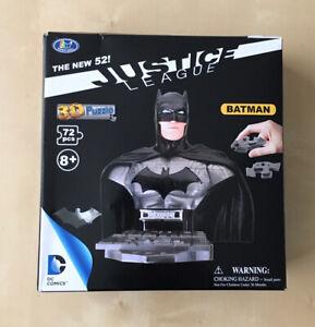 DC Comics Justice League BATMAN 3D Puzzle - 72 piece Jigsaw - GIFT - NEW RARE UK