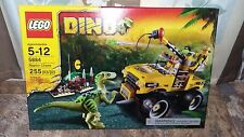 DINO Lego 5884 RAPTOR CHASE, PLUS BONUS DINO FIGURE,  255 pcs Retired Set, NEW