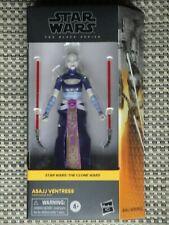 "Star Wars Asajj Ventress action figure Black series 6"" #07 NIB The Clone Wars"