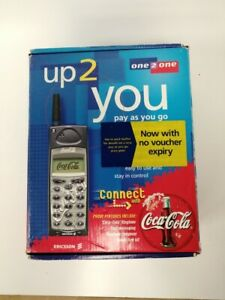 Coca Cola Vintage Mobile Phone Sony Ericsson A1018S In Box Retro #303