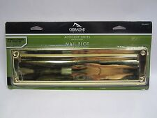 Free Ship, Gibraltar Industries Steel Mail Slot, Brass Finish, Ms00Br03