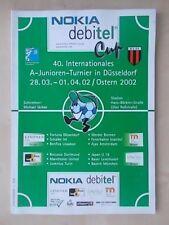 Nokia Cup-Manchester United BENFICA JUVENTUS Ajax Schalke-programme