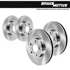 For 10 - 13 Kia Forte 10 - 11 Kia Soul Front & Rear OE Disc Brake Rotors
