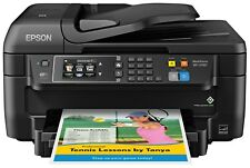 Epson WF-2760 All-in-One Wireless Color Printer with Scanner, Copier, Fax, Ether