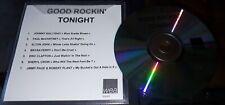 JOHNNY HALLYDAY DANS TRES RARE CD PROMO WEA GOOD ROCKIN TONIGHT