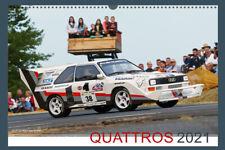 Audi Quattro Rallye Kalender 2021 A3
