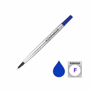 3xOriginal Parker Quink Roller Ball Refill Blue Medium 0.5mm Buy 2 Get Free 1