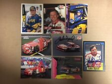 8 Different Lake Speed Signed Cards COA