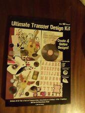 Ultimate Transfer Design Kit-over 160 pieces-Item 19356 - NIP-Horizon Group USA