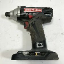 """Craftsman C3 19.2V 1/4"""" Variable Speed Impact Driver with Light 315.116060 Bare"""