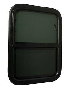 "19.5"" Width x 25.5"" Height Vertical Slider RV Window Cargo Trailer W/ Screen"