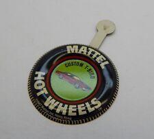 Redline Hotwheels Button Badge Metal Hong Kong Custom T-Bird R17222