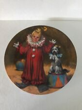Tommy The Clown Plate By John Mcclelland #123105