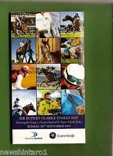 #KK.   HORSE RACING PROGRAM - GRAFTON  CAULFIELD  29/9/2013