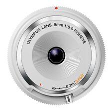 OLYMPUS mirrorless SLR 9mm f8 fisheye body cap lens White BCL-0980 WHT