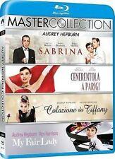 Blu Ray AUDREY HEPBURN - Master Collection (4 Dischi) Sabrina/Colazione Tiffany