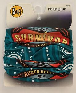 Australian Survivor Buff 2021 - Brains vs Brawn Merge Fire Tribe RARE BRAND NEW