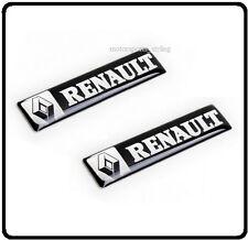2x Renault Insignia Emblema Decal Sticker Puerta Lateral Ala CLIO MEGANE SCENIC COCHE 84