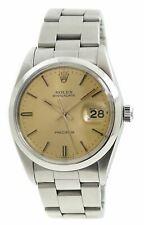 Rolex Oysterdate Precision 6694 Cal. 1225 Champagne Dial Watch