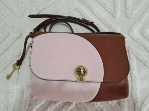 Fossil Maya Crossbody bag, Leather, pre-owned