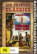 Buchanan Rides Alone  DVD NEW, FREE POSTAGE WITHIN AUSTRALIA  REGION 4