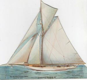 America Cup Ship DEFENDER , 1895 ; Mechanical