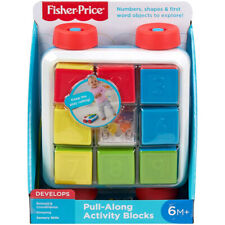 Fisher-Price Pull-Along Activity Blocks For Baby