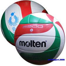 PALLONE Volley/Beach Volley MOLTEN V5M2501L 2500 Omologato FIPAV  Size 5