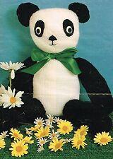 PANDA giocattolo Knitting Pattern. PLUS GRATIS CANGURO Knitting Pattern