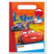 Disney Cars 2 Treat Bags (8) 3-D Effect!
