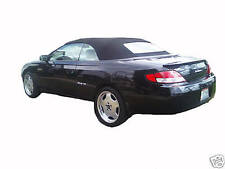 TOYOTA SOLARA 1999-03  REPLACEMENT CONVERTIBLE TOP 2 PIECE HEATED REAR GLASS SF