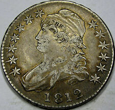 1812 O-105 Capped Bust Half Dollar Choice Abt. AU... So Nice and 100% Original!!