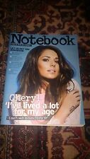 Sunday Mirror Notebook Magazine 09/06/13 Cheryl Cole on cover