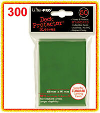 ULTRA PRO 300 GREEN DECK PROTECTOR Standard Size Card Sleeves 6 packs gaming MTG