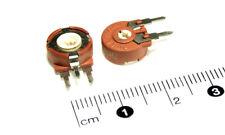 5 résistances ajustables 500R Piher PT10 LV trimpots