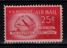 United States 1949 25c Air Mail Universal Postal Union SGA986 Mint MH