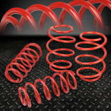 "FOR 2016-2017 HONDA CIVIC 1.5L FRONT 1""+REAR 0.75"" LOWERING SPRING COIL SET RED"