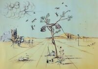 Salvador Dalí: Teléfono Désincarné - Litografía Numerada Y Firmada, 500ex