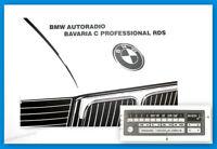 Original BMW Bavaria C Professional RDS Autoradio Betriebsanleitung
