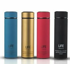 Insulated Vacuum Flask Bottles Water Tea Infuser Double Wall Thermal Cup Thermos