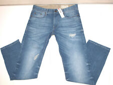 ESPRIT Straight Leg Jeans Used Destroyed (w32 L34) Denim Hose 077ee2b002
