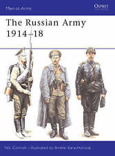 Cornish, Nik, The Russian Army 1914-18 (Men-at-Arms), Very Good Book