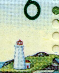 Weeda Canada 1353i/vi VF MNH M/S PBs, CBN HP 1994, Yellow snake in sky CV $23