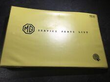 1959-1969 MG Magnette Mark III & Mark IV OEM Parts List Catalog Manual AKD953