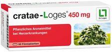 Cratae-Loges 450 mg 50 Stück / PZN: 04517007