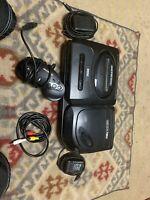 Sega Genesis And CD Console - Black
