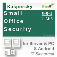 Kaspersky Small Office Internet Security 5  +5 +1 | 1 Jahr Support GreenIT|ESD