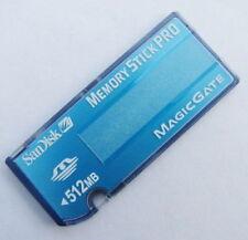 SanDisk 512MB Memory Stick Pro SDMSV-512 Original For Sony PSP Genuine NEW