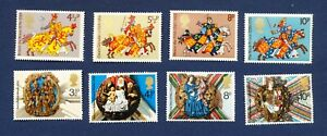 GREAT BRITAIN - SG 958/61, 966/9 - NH OG - Britons, Christmas - 1974