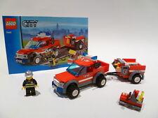 Lego City Off Road Fire Rescue Set 7942 Pompier Figure 100% COMPLET GARANTIE